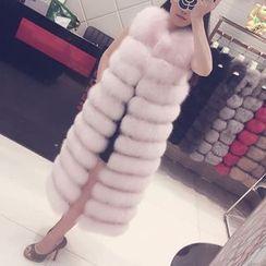 KOTEN - Hooded Faux Fur Vest