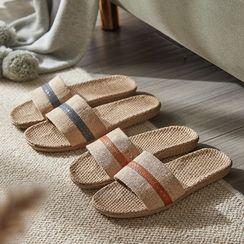 Furana - 条纹拖鞋