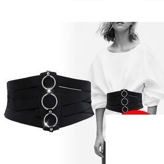 EMIDRE - Ring Detail Elastic Belt