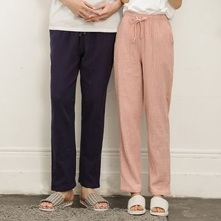 Dogini - Couple Matching Linen Lounge Pants