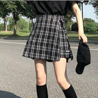 monroll - Falda pantalón de cuadros