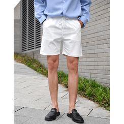 GERIO - Drawcord-Waist Casual Shorts