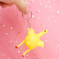 Eranso - Squishy Chicken Key Ring