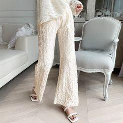 NANING9 - Textured Lounge Pants