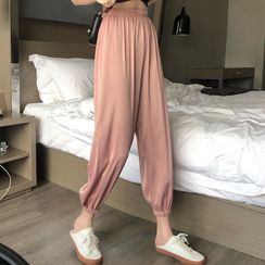 KAKAGA - Cropped Harem Pants