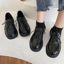 Inocha - Platform Lace Up Oxford Shoes