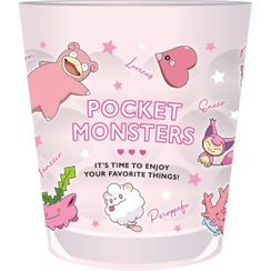 T'S Factory - Pokemon Clear Plastic Cup (Pink)