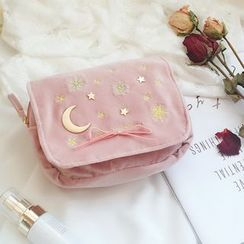 Ifish House - Embroidered Makeup Pouch