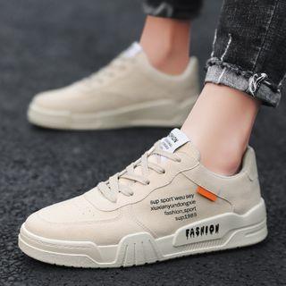 BELLOCK - 字母系带厚底休閒鞋