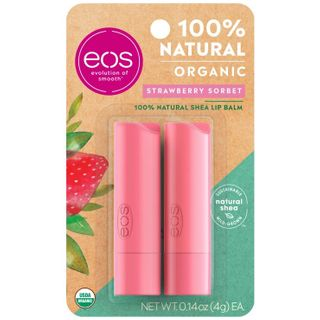 eos - Strawberry sorbet 2-pack lip balm