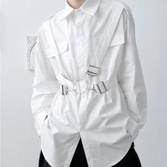 VEAZ - Langärmliges Hemd mit Schnalle