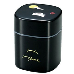 Hakoya - Hakoya Tea Caddy Kuro Usagi