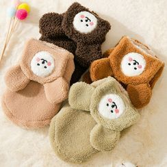 Cissilli - Animal Bear Ear Hooded Pet Top