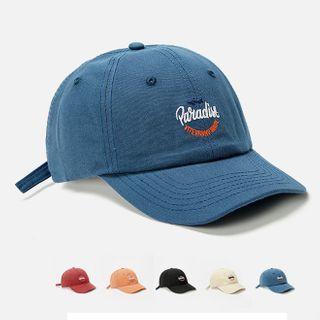 Hatfever - Lettering Embroidered Baseball Cap