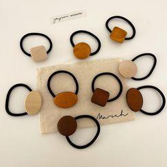 Yukami - Geometric Wood Hair Tie