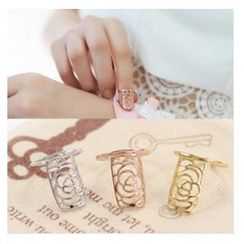 Glamiz - Rose Nail Ring