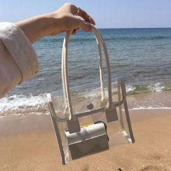 Ikebag - Clear PVC Handbag