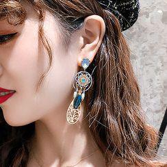 Catalunya - Faux Crystal Dangle Earring