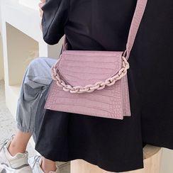 Kunado - 仿皮链条手提包
