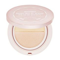 CANDY LAB - Double Pop Peach Dewy Tone Up & Cover Cushion - 3 Colors