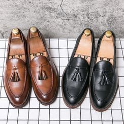 WeWolf - Faux-Leather Tasseled Loafers