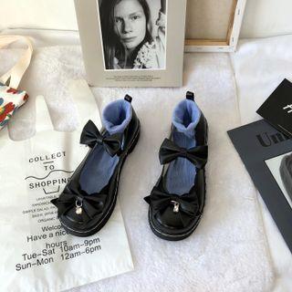 Stevvi - Bow Mary Jane Shoes