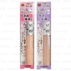 Canmake - Cover & Stretch Concealer UV SPF 25 PA++ - 3 Types