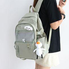 Little Days - Lightweight Mesh Panel Backpack