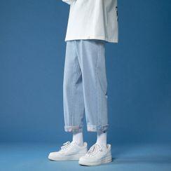 POSI(ポシ) - Wide-Leg Jeans