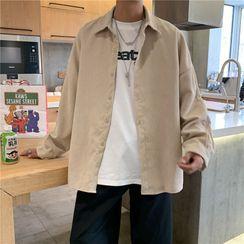 jaywoon - Long-Sleeve Corduroy Shirt