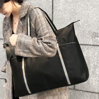 TESU - Contrast Stripe Travel Carryall Bag