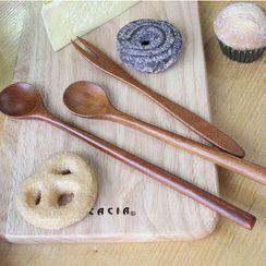 iswas - Wooden Tea Spoon / Tea Fork