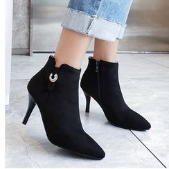 Freesia - 尖头高跟及踝靴