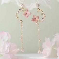 DREN - Flower Drop Earring