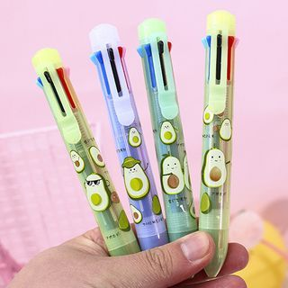 SASHI - Avocado Print Multicolor Pen
