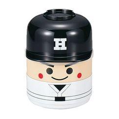 Hakoya - Hakoya Kokeshi 2 Layers Lunch Box Baseball Boy