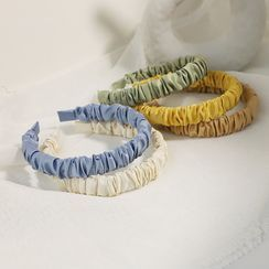 moliveny - 抽褶布藝髮箍