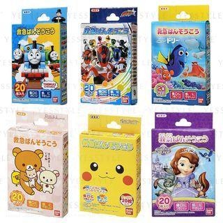Bandai - Kids Plaster 20 pcs - 17 Types