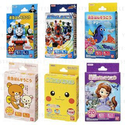 Bandai - Kids Plaster 20 pcs - 17 Types