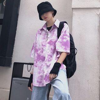 Giuliana - Printed Elbow-Sleeve T-Shirt