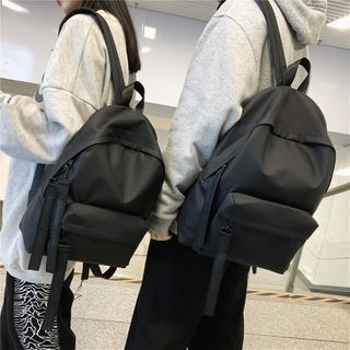 Gokk(ゴック) - Plain Zip Backpack