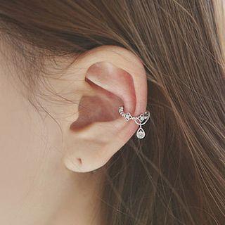 Blinglitz - Pendientes ear cuff de pedrería