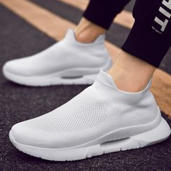 JACIN - Mesh Panel Platform Sneakers