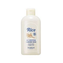 SKINFOOD - Rice Daily Brightening Mask Cleansing Water 300ml