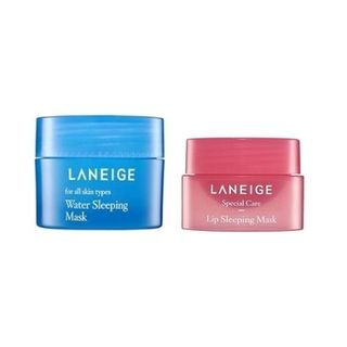 LANEIGE - Sleeping Care Kit: Water Sleeping Mask 15ml + Lip Sleeping Mask 3g