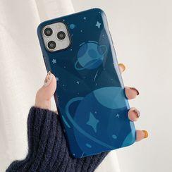 Aion - 蓝色星球插画11Pro/Max苹果X/XS/XR适用手机壳iPhone7p/8plus软壳
