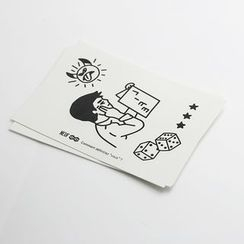 GAIE(ガイエ) - Waterproof Temporary Tattoo