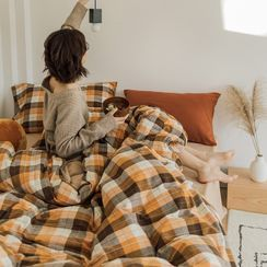 Sharemily - Plaid Bedding Set
