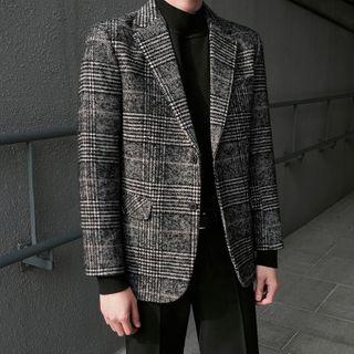 MRCYC - Plaid Single-Breasted Jacket