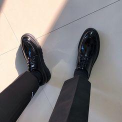 MRCYC - Faux Leather Platform Lace-Up Shoes